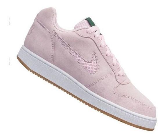Tênis Nike Ebernon Low Prem Feminino Original + Nf