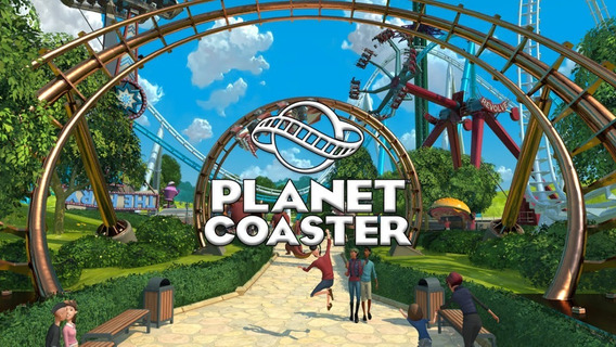 Planet Coaster ( Mídia Física ) Pc - Dvd