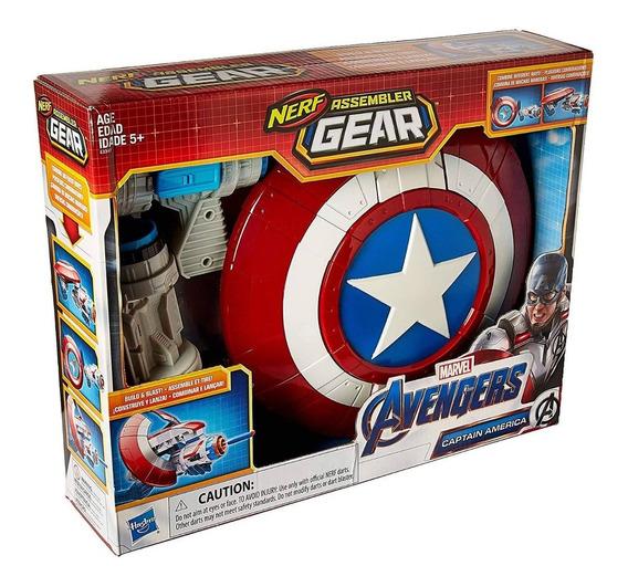 Juguete Lanzador Escudo Capitan America Marvel Avengers