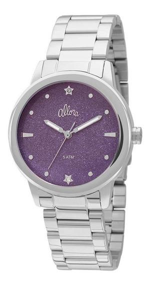 Relógio Allora Coleção Celeste Prata - Al2036cr/k3g