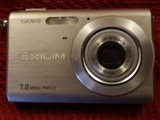 Cámara Casio Exilim 7.2mpixels