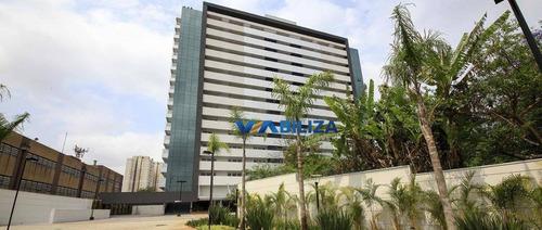 Sala Comercial 39,88m² Offices Nações Unidas - Santo Amaro - São Paulo. - Sa0122