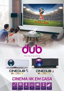 Projector Mini Cinedub S 4k