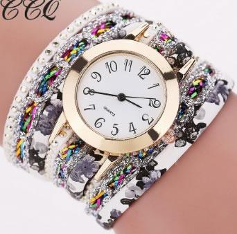 Relógio De Pulso Feminino Bracelete Na Caixa Para Presente