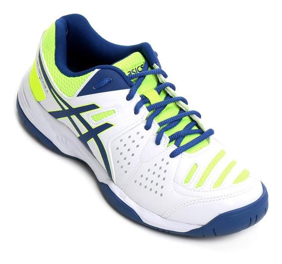 Tenis Asics Gel Dedicate 4 A Volei Masculino Bco - De 299,00