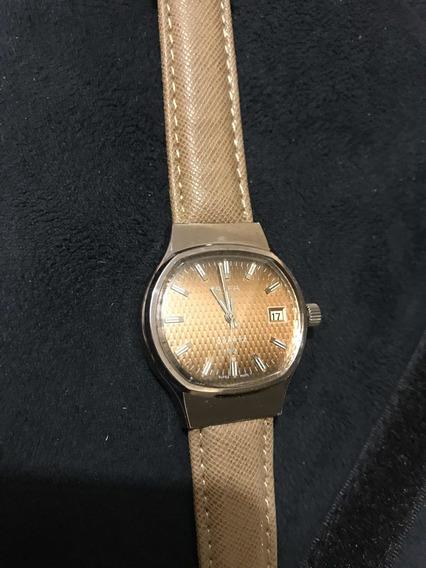 Reloj Suizo Alfa Cuarzo Vintage Calibre Esa 2030-9125