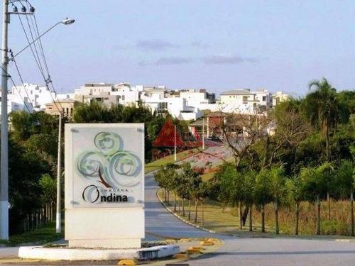 Terreno À Venda, 300 M² Por R$ 265.000,00 - Condomínio Chácara Ondina - Sorocaba/sp - Te0225