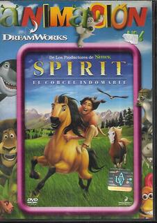 Spirit El Corcel Indomable Coleccion Animacion Avh Dvd