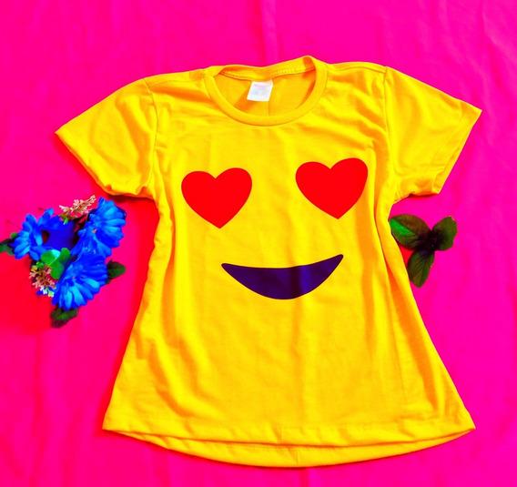 Camisas, Blusas Emoji Apaixonado ¿