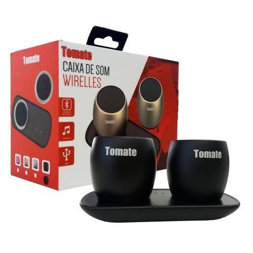 Caixa Som Mini Wireless Bluetooth Portatil Tomate Mts-8889