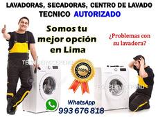 Servicio Tecnico De Lavadoras Secadoras G.e Lg Samsung Bosch