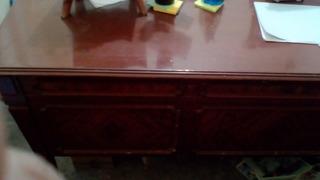 Escritorio Y Mueble De Caoba