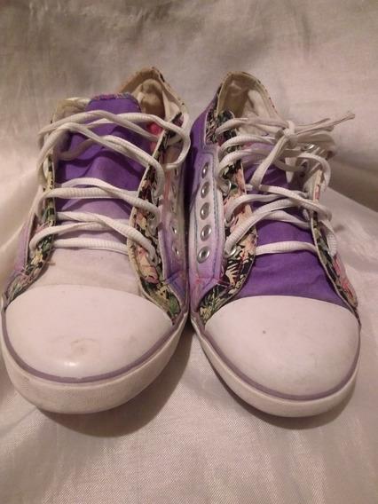 Zapatillas De Lona 38