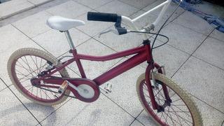 Bicicleta Rodado 20 Niña - Impecable