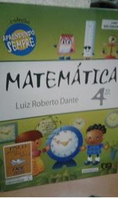 Matemática 4 Luiz Roberto Dante Aprendendo Sempre