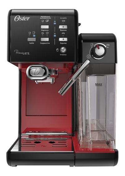 Cafeteira Espresso Oster Primalatte Ii Red