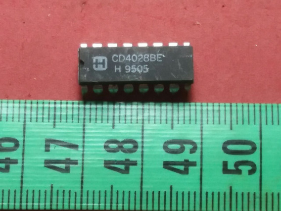 Cmos Cd 4028 Be Bcd-to-decimal Decoder