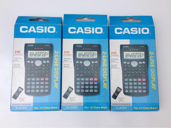 Calculadora Científica Original Casio Fx-82ms