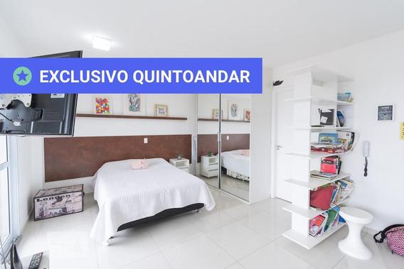 Studio No 5º Andar Com 1 Dormitório E 1 Garagem - Id: 892948330 - 248330