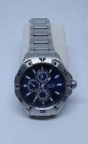 Relógio Náutica Azul Marinho 100 Atm Masculino