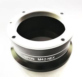 Adaptador Lente M42 Em Câmera Sony