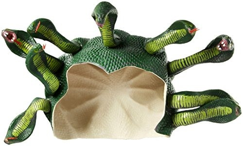Novedades Del Foro Tocado De Medusa Para Mujer, Verde, Talla
