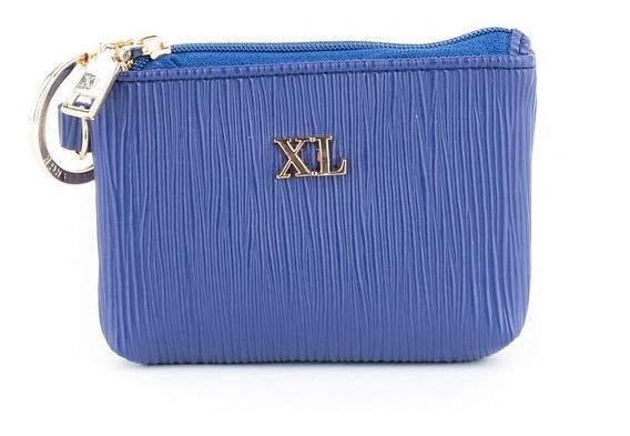Monedero Mujer Xl Extra Large Noa Azul