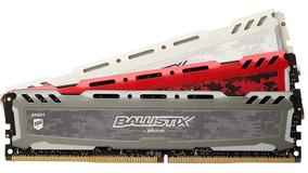 Memoria Ballistix Sport 1 X 16gb Ddr4 2400mhz Crucial Gamer