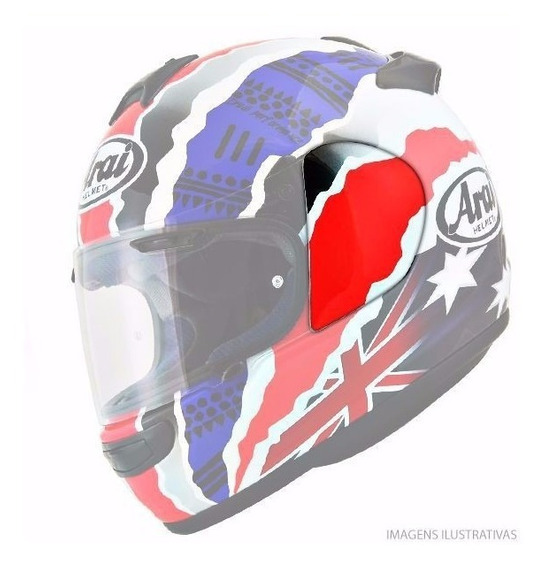 Arai Tampa Lateral Axces2, Rx7, Chaser - Frete Grátis