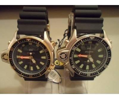 Relógio Atlantis Original G3220 Aqualand Modelo Co22 Citzen