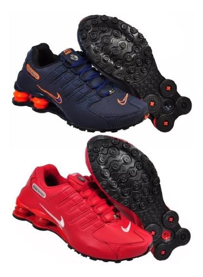 Tênis Nike Sxhox Nz 4 Molas Black Friday Promoção Kit 2 Par