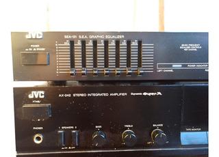 Amplificador Jvc Ax-242 Super A Y Ecualizador