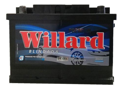 Imagen 1 de 10 de Bateria Auto Willard Ub840 75ah 12x85 Cambio Sin Cargo Caba
