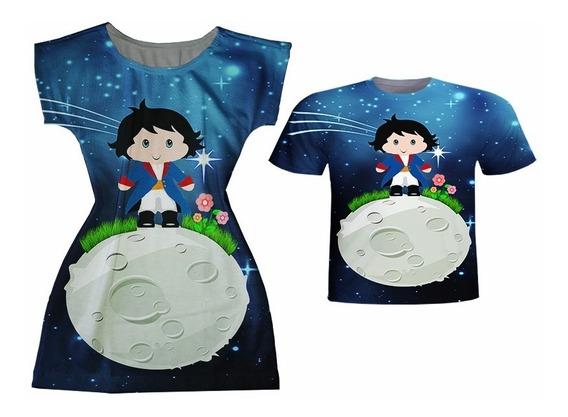 Blusa Infantil + Vestido Infantil - Pequeno Príncipe Moreno