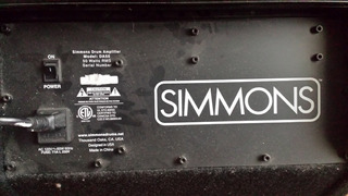 Amplificador Para Bateria (simmons)
