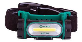 Lanterna Para Cabeça Recarregável 150 Lumens St90716 Sata