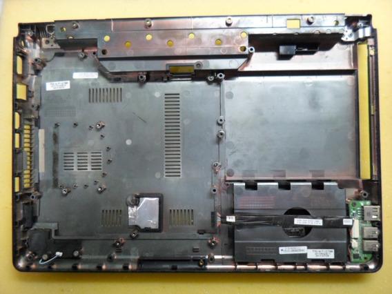 Carcaça Base Inferior Notebook Itautec W7550 Completa
