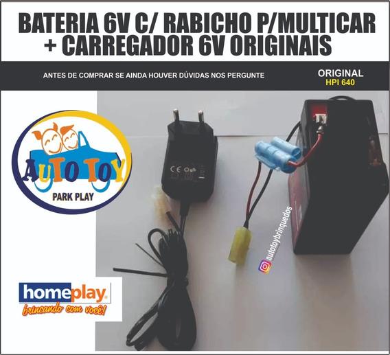 Multicar 640 Hpi640 - Homeplay - Bateria + Carregador 6v