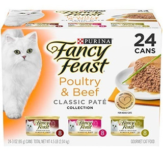 Purina Fancy Feast Clasico Pate Collection Feast Adulto Moja