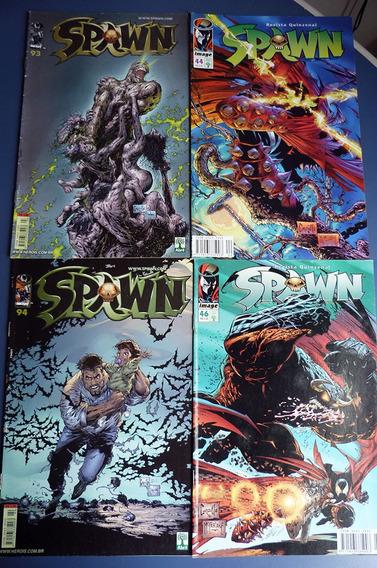 Spawn Fim Coleção 4 Edições Revista Hqs Image Super-herói Dc