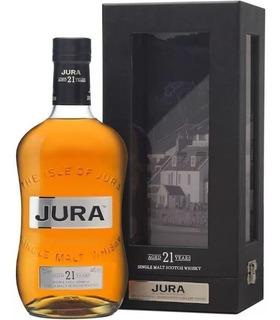 Whisky Single Malt Jura 21 Años 700ml En Estuche