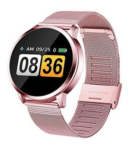 Reloj Inteligente Q8, Oro Rosa Metálico