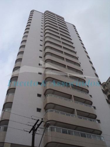 Imagem 1 de 19 de Apartamento Para Venda Vila Tupi Em Praia Grande Sp, 02 Dormitórios Com Suíte, Churrasqueira Na Sacada, 02 Elevadores E 02 Vagas - Ap00780 - 3272044