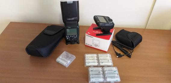 Flash Yongnuo 600ex-rtll + Transmitter Yongnuo Yn-e3-rt