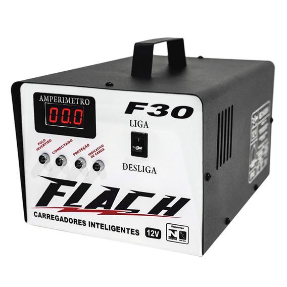 Carregador De Bateria 30a - F-30 Dig - 12v Inteligente - Cin