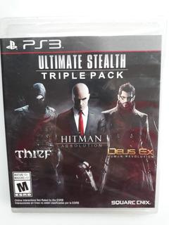 Hitman Absolution, Thief, Deus Ex Para Ps3 Nuevo Y Sellado