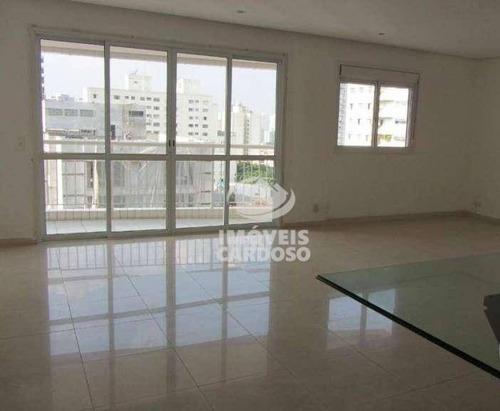 Imagem 1 de 17 de Apartamento Com 3 Dormitórios À Venda, 136 M² Por R$ 1.245.000,00 - Perdizes - São Paulo/sp - Ap0283