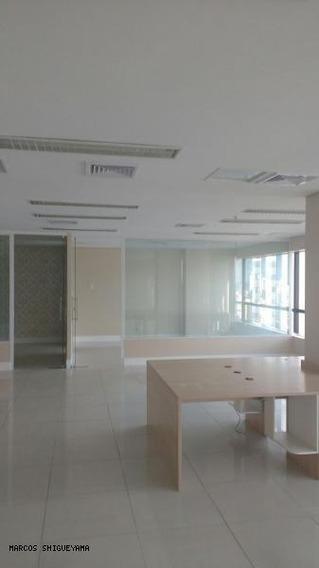 Sala Comercial Para Locação Em Salvador, Caminho Das Árvores, 3 Banheiros, 6 Vagas - Ms0559