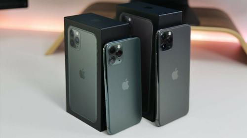 Doble Sim Apple iPhone 11 Pro Max Desbloqueado Hk Versión