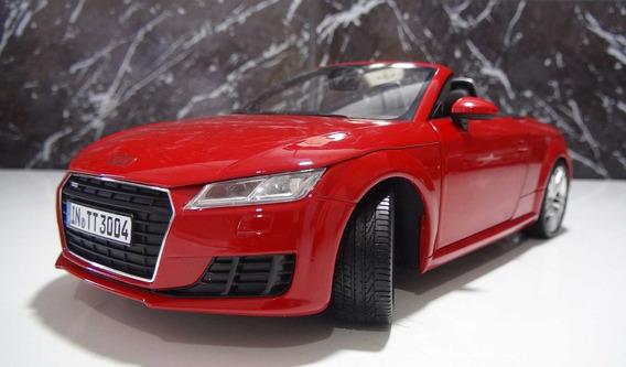 Audi Tt Roadster Tango Escala 1:18 Minichamps Cor Vermelho